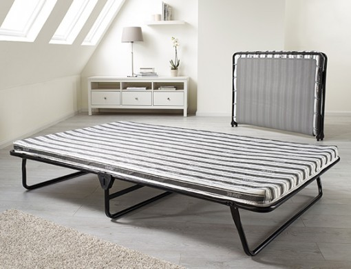 Jaybe Value Folding Bed with Fibre Mattress, 48""
