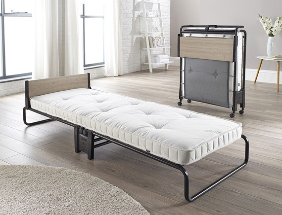 Foldaway Bed With Spring Mattress