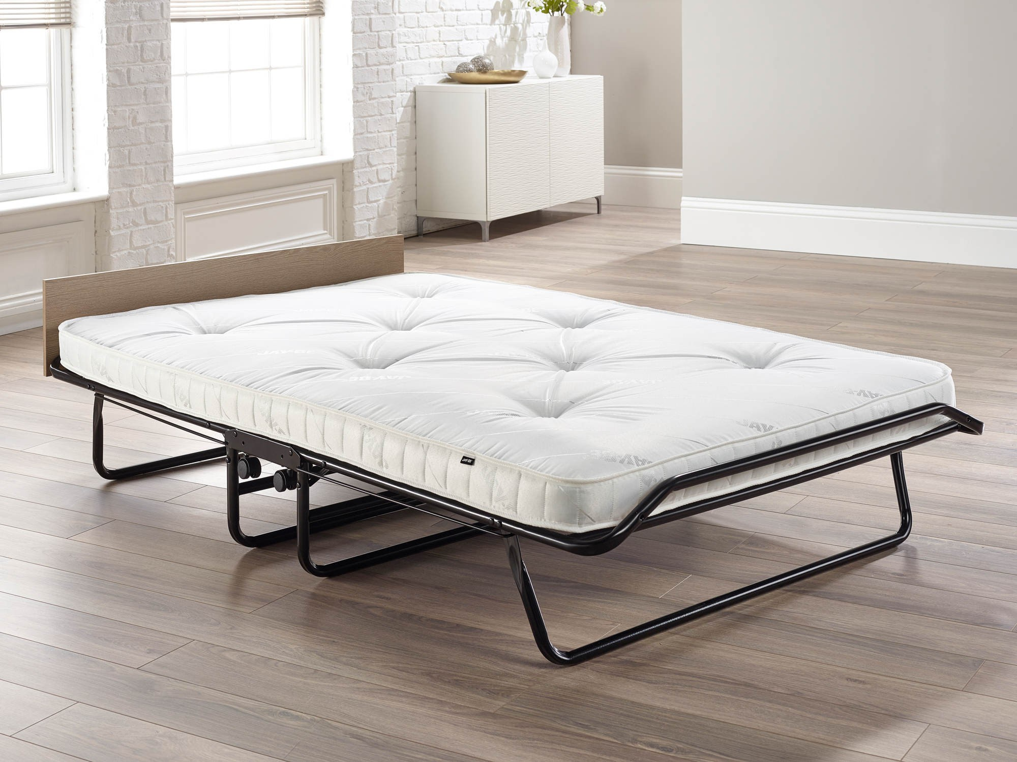 Luxury rollaway bed with spring mattress for Bed with mattress